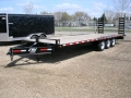 Used Equipment Sales 8.5x24 DOW Equip Trailer;  3 7k axles in Edmonton AB